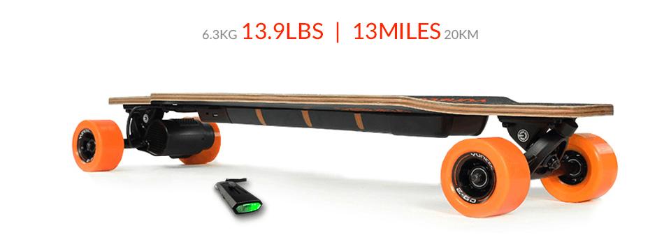 The E-Go Yuneec Electric Skateboard