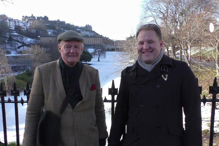 Stuart and Richard Usher
