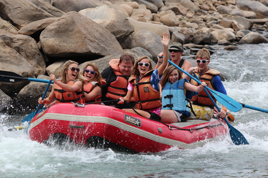 Durango Rivertrippers and Adventure Tours 4 hour rafting trip