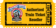 authorized train ticket reseller badge