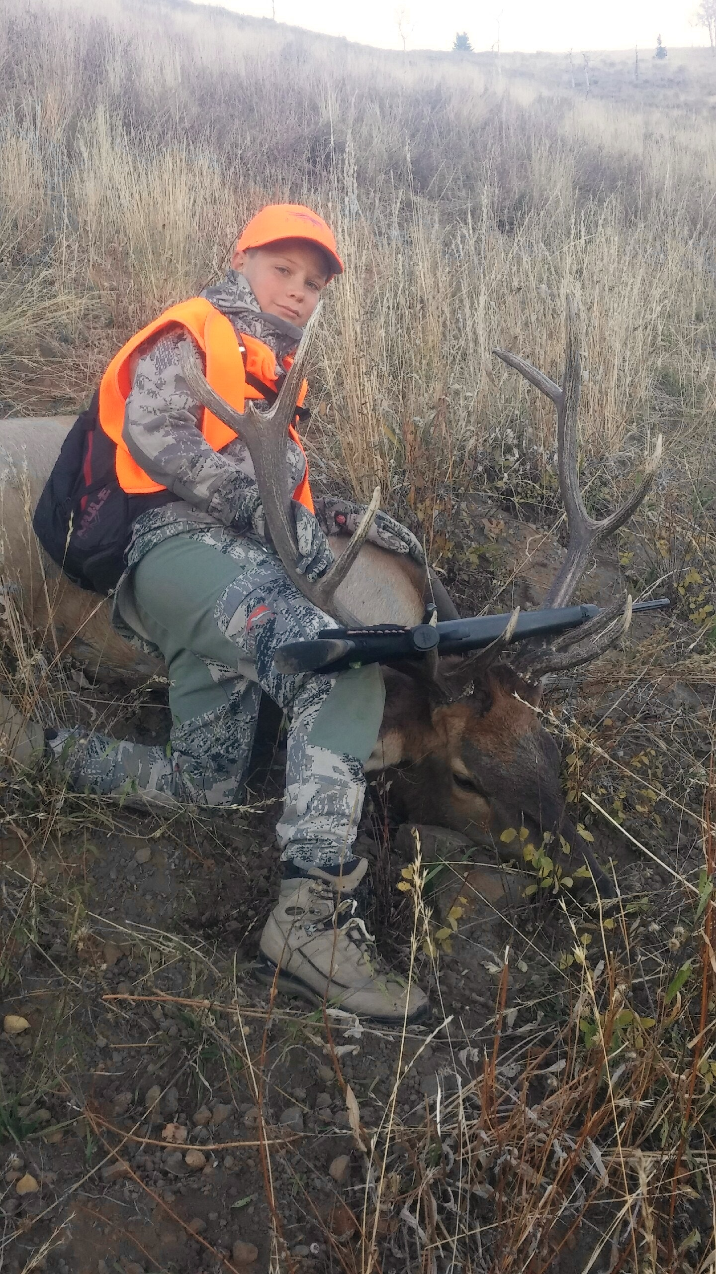 Great first hunt for this young man!