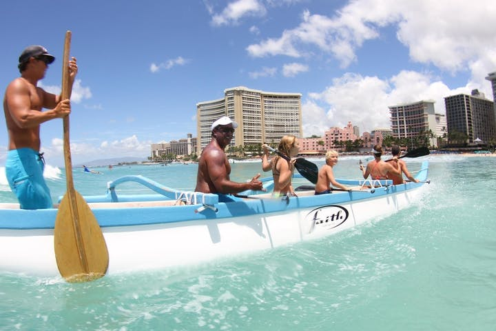 canoe ride honolulu