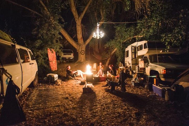 Campsites | Mystic Hot Springs