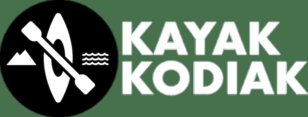 Kayak Kodiak Logo with White Text