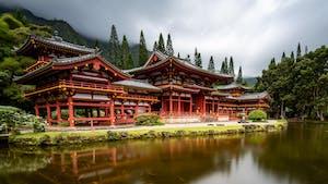 Byodo-In-Temple in Hawaii