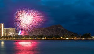 Fireworks Waikiki Oahu Photo Tours