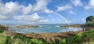 Rainbow at Sharks Cove Hawaii