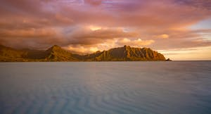 Kaneohe bay Sunrise Alex Wilson Oahu Photo Tours