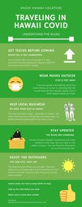 Hawaii COVID Traveling infographic