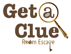 get a clue room escape temecula CA logo