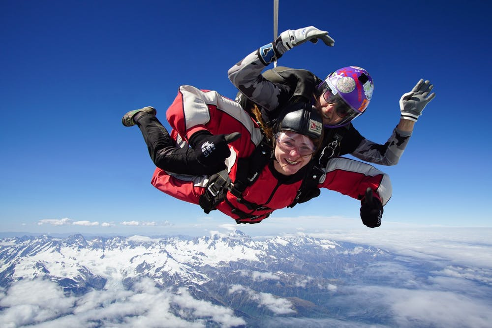 Launching NZ's Highest Skydive – 20,000 Ft Above Franz Josef
