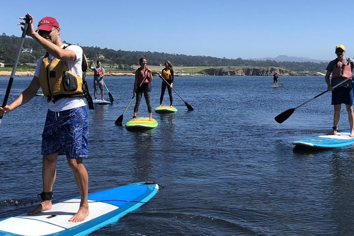 Pebble Beach Paddle Board Lesson