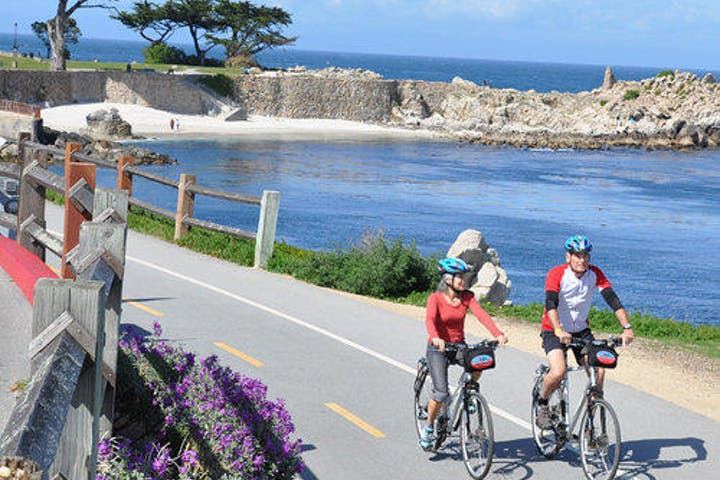 17-Mile Drive Bicycle Tour adventures by sea