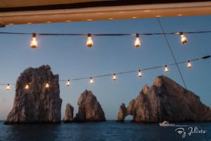 rock formations over the sea at Cabo San Lucas