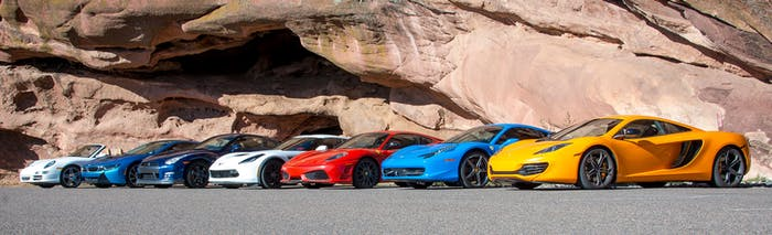 Exotic Car Rental Fleet In Denver Co Mile High Drives