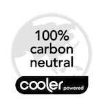 100% Carbon Neutral with Cooler icon