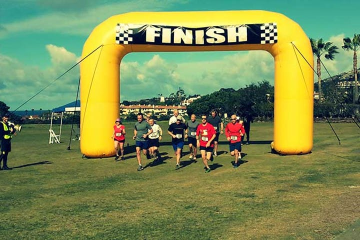 Fun Run Finish Line