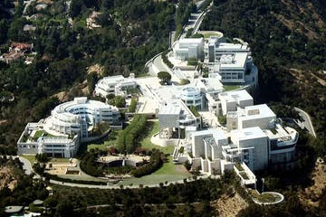 Getty Museum Aerial View