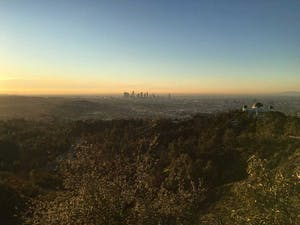 Sunset LA Skyline