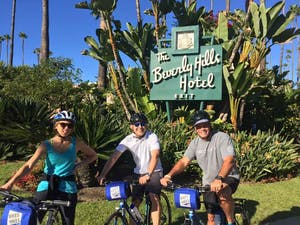 Bike Tour at Beverly Hills Hotel