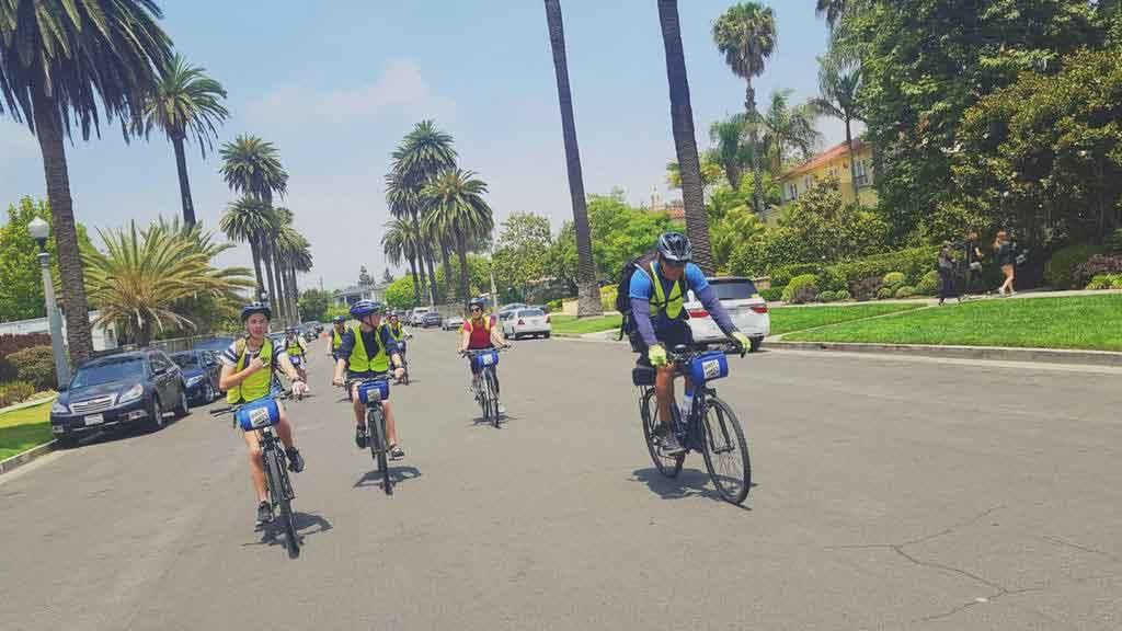 Los Angeles Bike Tour Group