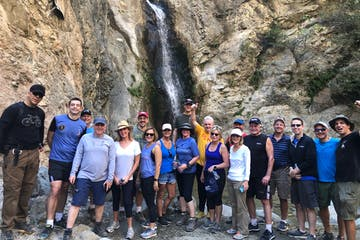 group tour eaton canyon waterfall
