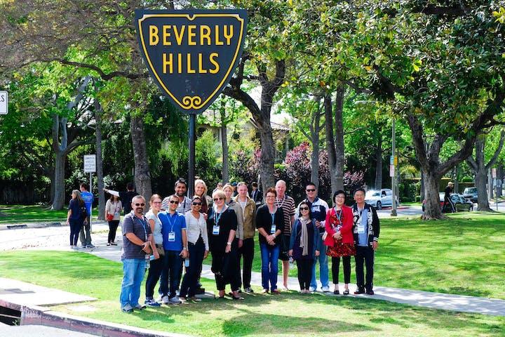 Beverly Hills Walking Tour