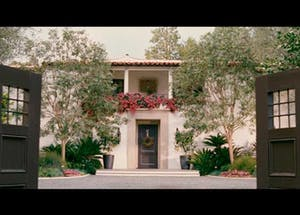 Amanda's House in The Holiday movie