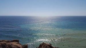 Ocean in California