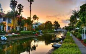 Venice Canal Walkway