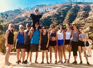 hollywood sign group hike tour