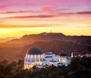 griffith observatory sunset hike la