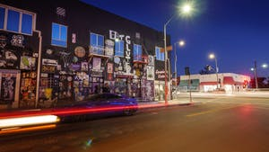 melrose avenue nighttime