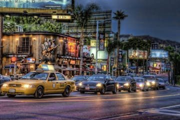 sunset strip for walking tour
