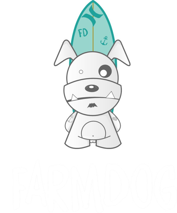 Farmdog Surf School logo