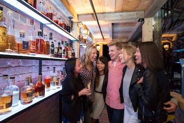 Whiskey urban trail tour group