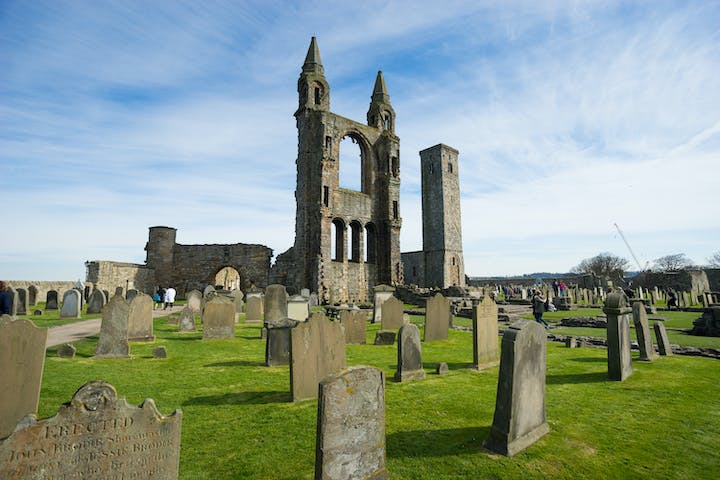 St Andrew cathedral in Scotland