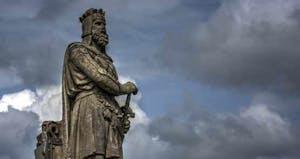 Statue de Rober The Bruce