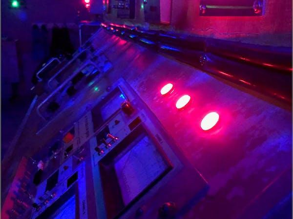 Lab control panel.