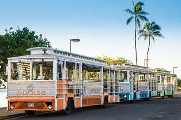 LeaLea Trolley Hop-on hop-off in/around Waikiki and Beyond! Explore Oahu