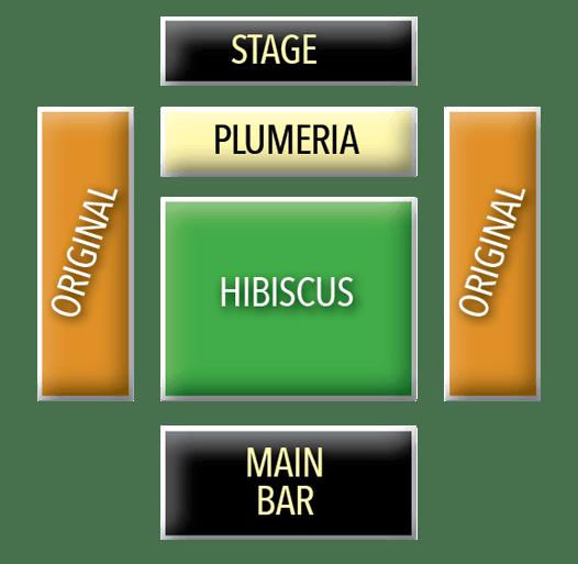 Germaines Luau seating chart