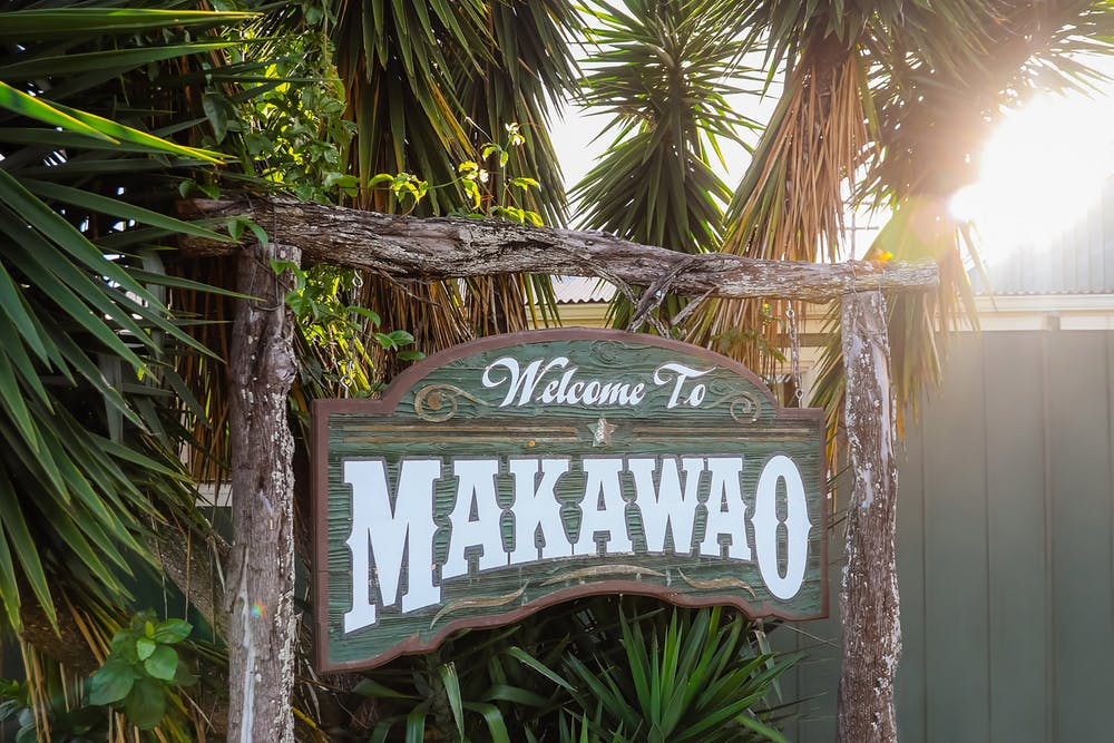 Makawao sign