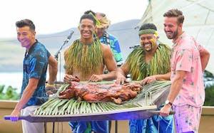 kalua pig presentation