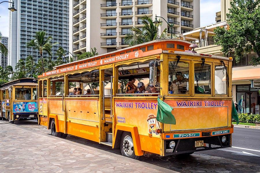 waikiki trolley