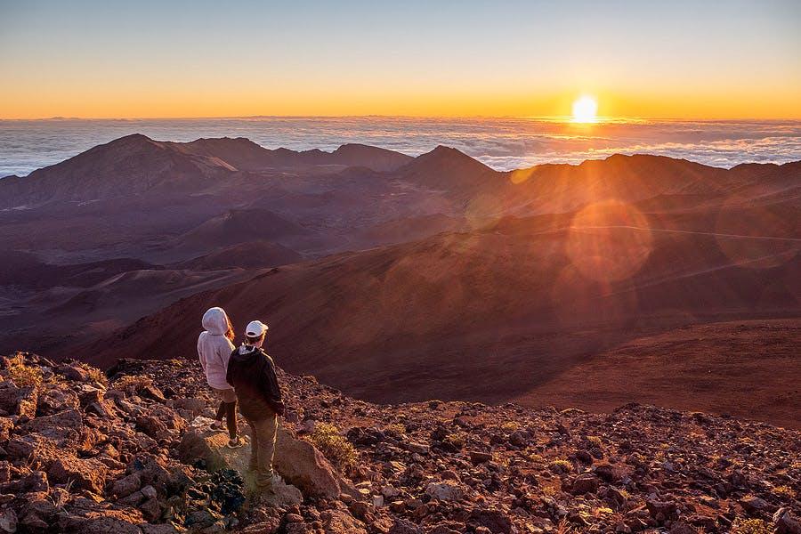 Haleakala Summit Sunrise