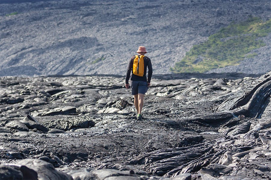 big island lava field hike