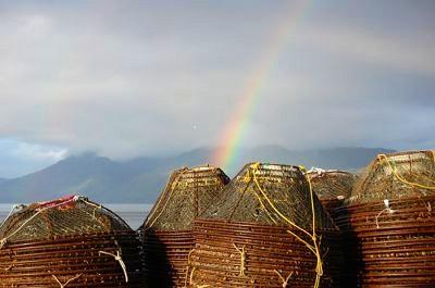 A rainbow in Alaska