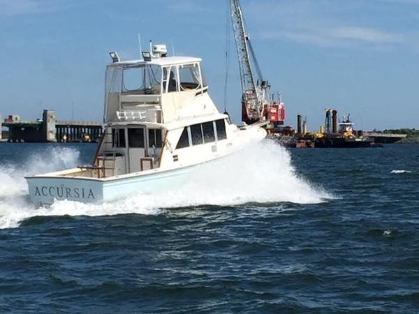 The Accursia sport fishing boat