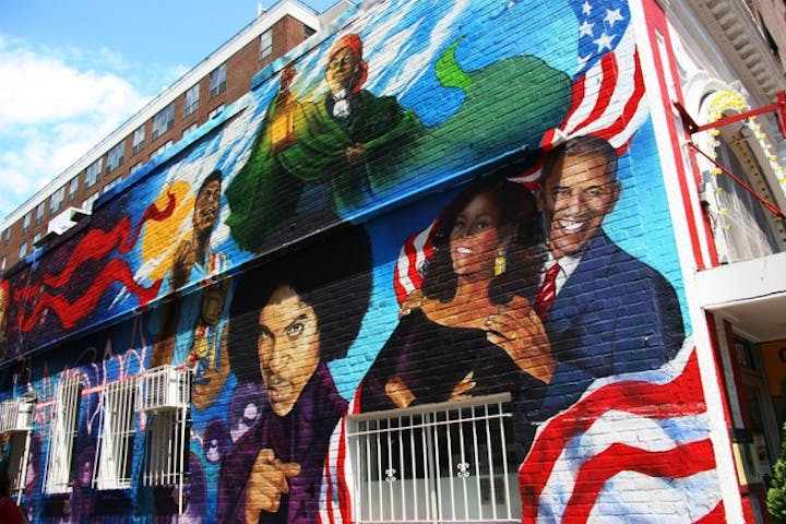 Murals of DC tour