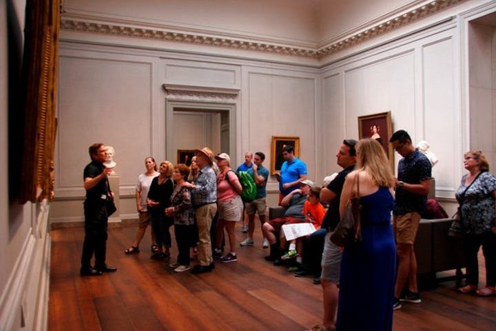 Renaissance to Impressionism tour at the National Gallery of Art in Washington DC